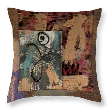 Hooray Throw Pillow by Angela L Walker