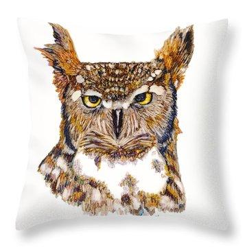 Hoot Throw Pillow