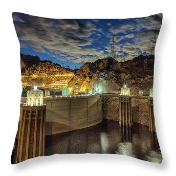 Hoover Dam Throw Pillow