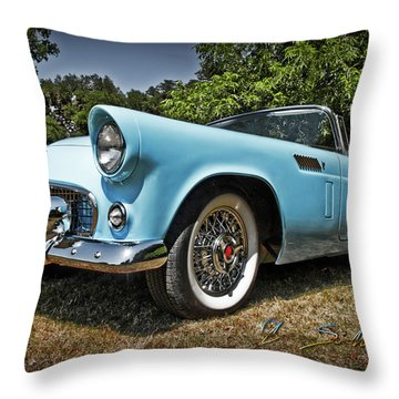 Hop In For A Ride Throw Pillow