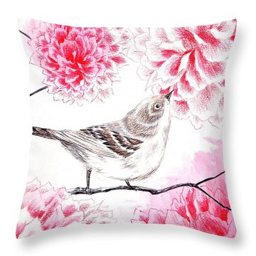 Hop To It Throw Pillow