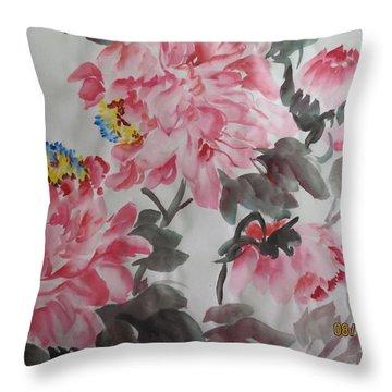 Hop08012015-691 Throw Pillow by Dongling Sun
