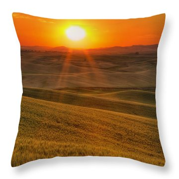 Hope And Glory Throw Pillow
