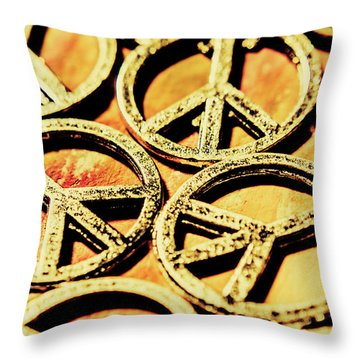 Hope And Peace Throw Pillow