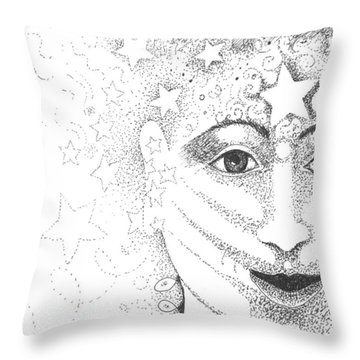 Hope And Rebirth Throw Pillow