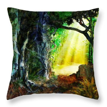 Throw Pillow featuring the digital art Hope by Francesa Miller