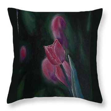 Hope Throw Pillow by Geeta Biswas
