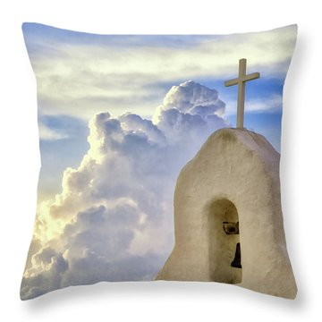 Hope In The Storm Throw Pillow