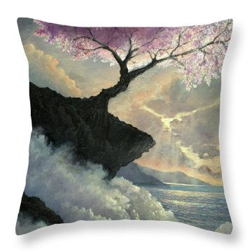 Hope Inclines Throw Pillow