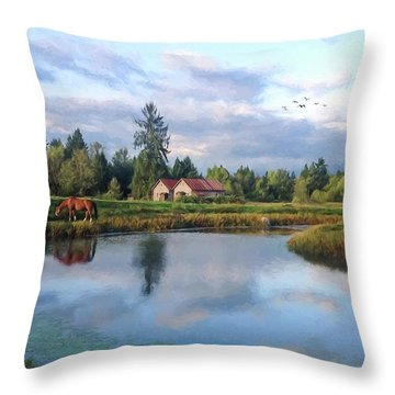 Hope Is Not A Dream - Hope Valley Art Throw Pillow