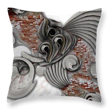 Throw Pillow featuring the digital art Hope Of Life  by Carmen Fine Art