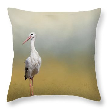 Hope Of Spring Throw Pillow by Eva Lechner