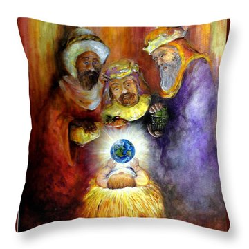 Hope Of The World Throw Pillow