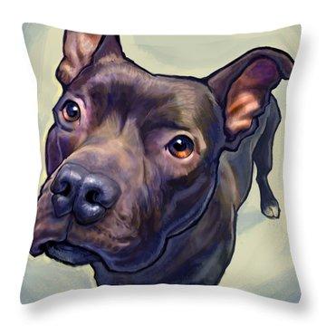 Dog Portrait Throw Pillows