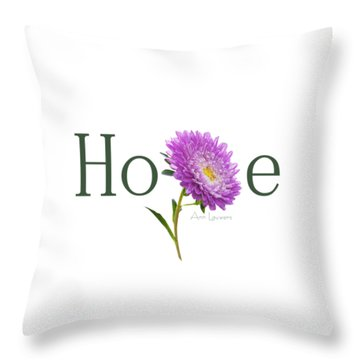 Hope Shirt Throw Pillow