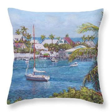 Hope Town Haven Throw Pillow