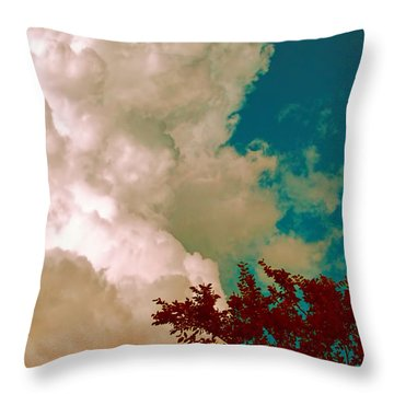 Throw Pillow featuring the photograph Hope by Wendy J St Christopher