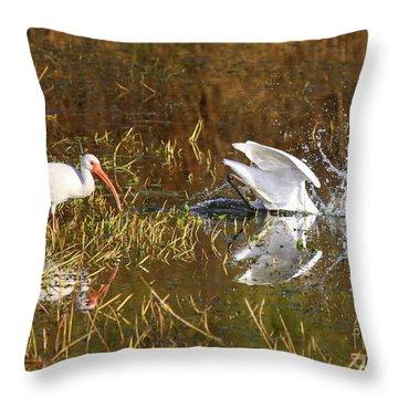 Hope You Got That Throw Pillow by Carol Groenen