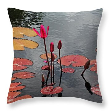 Throw Pillow featuring the photograph Hopefully Ever After by Michiale Schneider