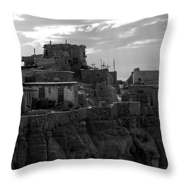 Hopi First Mesa 2 Throw Pillow