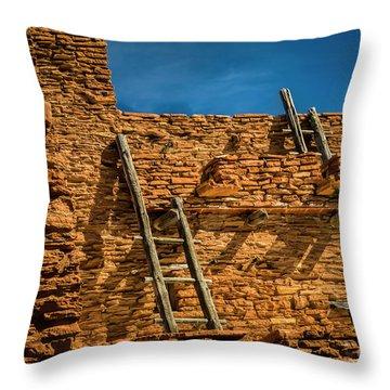 Hopi House Throw Pillow