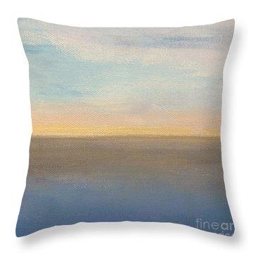 Horizon Aglow Throw Pillow