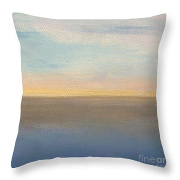 Horizon Aglow Throw Pillow