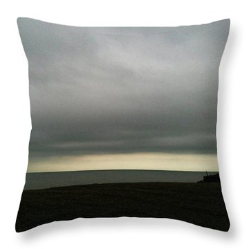Horizon Light Throw Pillow
