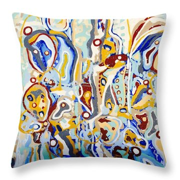 Suave #7--sold Throw Pillow
