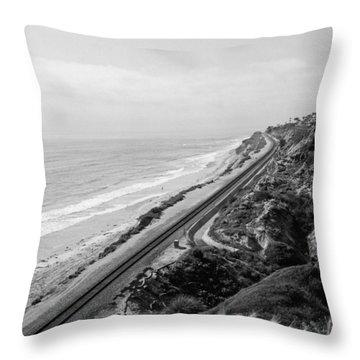 Horizons Throw Pillow by Tanya Harrison
