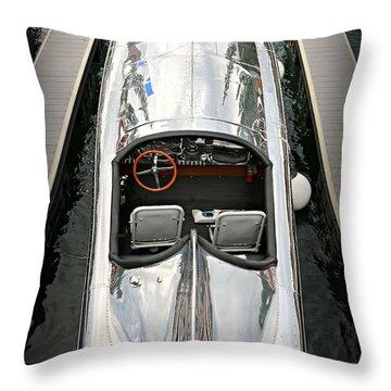 Hornet II Throw Pillow