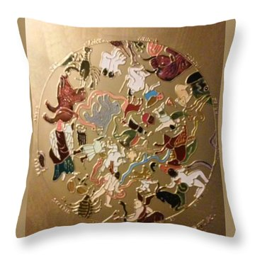 Horoscope Throw Pillow