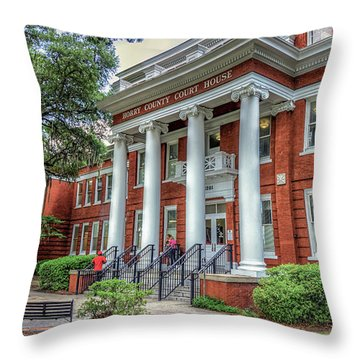 Horry County Court House Throw Pillow