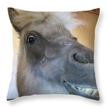 Horse 11 Throw Pillow