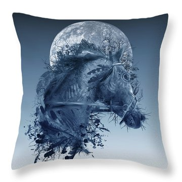 Horse 2 Throw Pillow