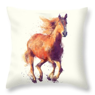 Horse // Boundless Throw Pillow