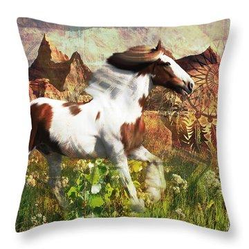 Horse Medicine 2015 Throw Pillow