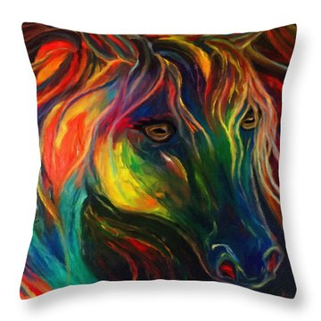 Horse Of Hope Throw Pillow