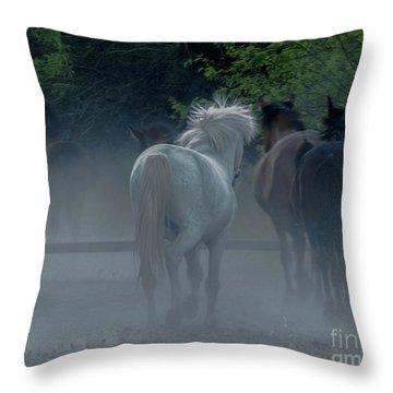 Horse 8 Throw Pillow