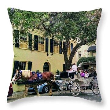 Horse Stories Throw Pillow