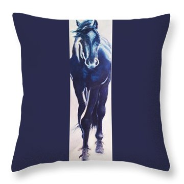 Horse Sz Throw Pillow