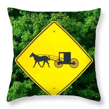 Horsepower Throw Pillow