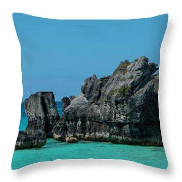 Throw Pillow featuring the photograph Horseshoe Bay by Ryan Smith