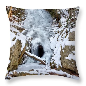 Horseshoe Mine Throw Pillow