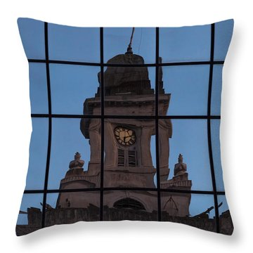 Hortense The Beautiful Throw Pillow