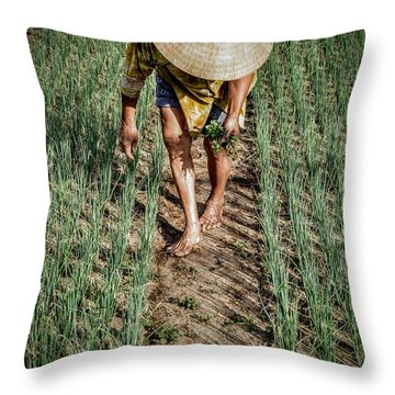 Horticulture Throw Pillow