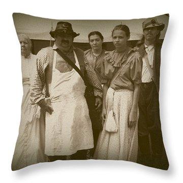 Hospital Staff Throw Pillow