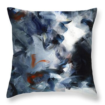 Hostias II Throw Pillow