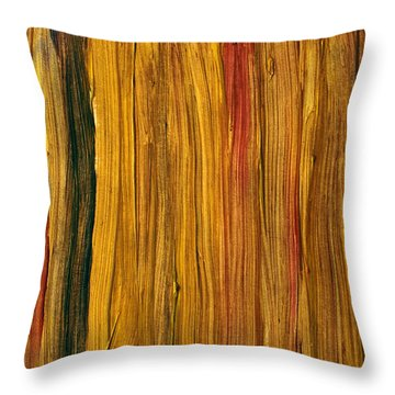 Hot African Evening Throw Pillow