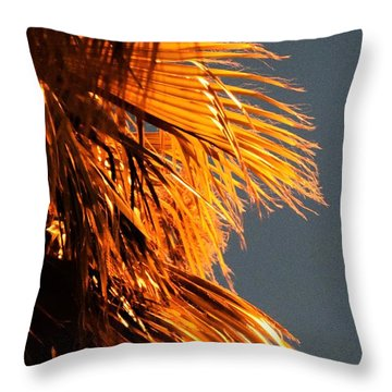 Hot Air Frizzies Throw Pillow